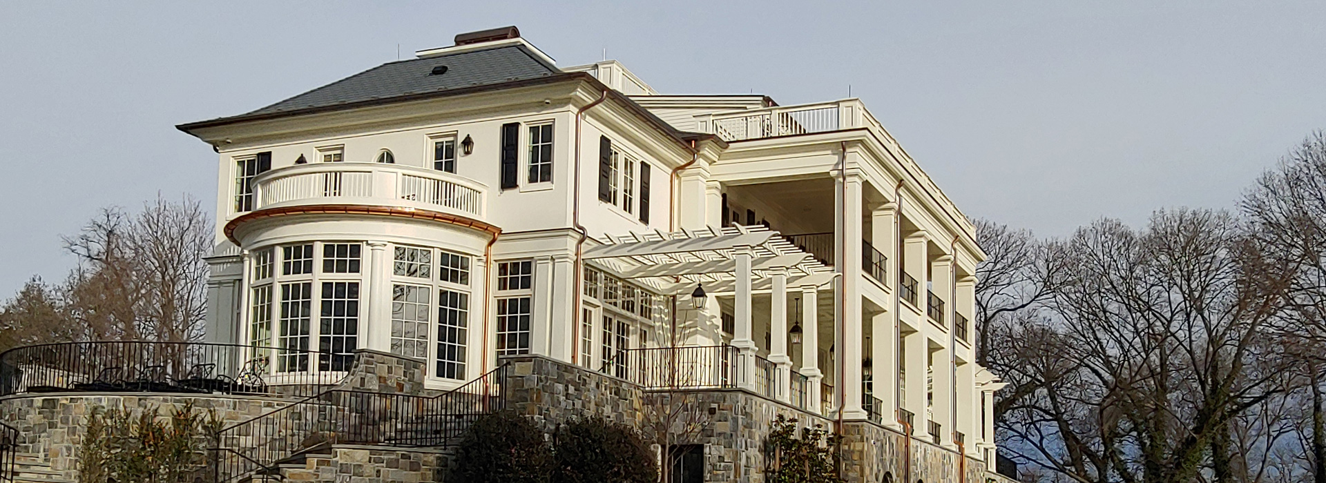 Custom built home in Potomac, Maryland